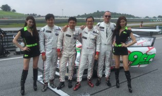 GDL Racing scores a double podium at its Asian GT debut