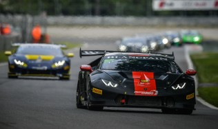 GDL Racing with two cars at Silverstone in the Lamborghini Super Trofeo