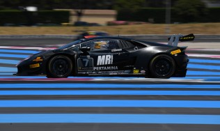 Breukers, Jefferies take the second place in the Lamborghini Super Trofeo Europe standings