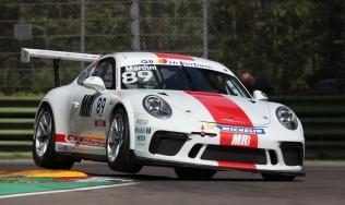 GDL Racing vede doppio a Imola al suo rientro nella Carrera Cup Italia e centra due successi con Bashar Mardini nella Michelin Cup