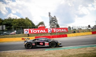 A late unexpected problem prevents GDL Racing from claiming class victory in 24H Spa-Francorchamps
