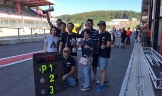 Podio tutto GDL Racing nella 25 Ore di Spa-Francorchamps
