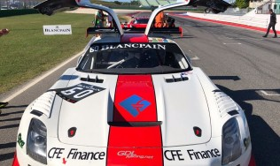 Rayneri ready for the Blancpain GT Sports Club round in Spa